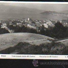 Postales: TARJ. POSTAL DE VIGO - VISTA TOMADA DESDE EL CASTRO. 306. L.ROISIN. Lote 38044831