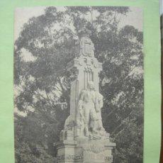 Postales: MONUMENTO A ROSALÍA DE CASTRO. SANTIAGO. LA CORUÑA. EL SOL PAPELERÍA. Lote 38109096