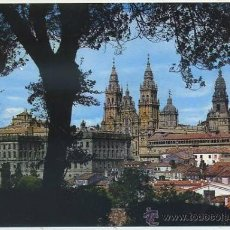 Postales: POSTAL DE SANTIAGO DE COMPOSTELA. LA CATEDRAL DESDE EL PASEO DE LA HERRADURA Nº 2080 P-GA-949. Lote 38117303