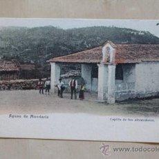 Postales: POSTAL. AGUAS DE MONDARIZ. CAPILLA DE LOS ALREDEDORES.. Lote 44856112
