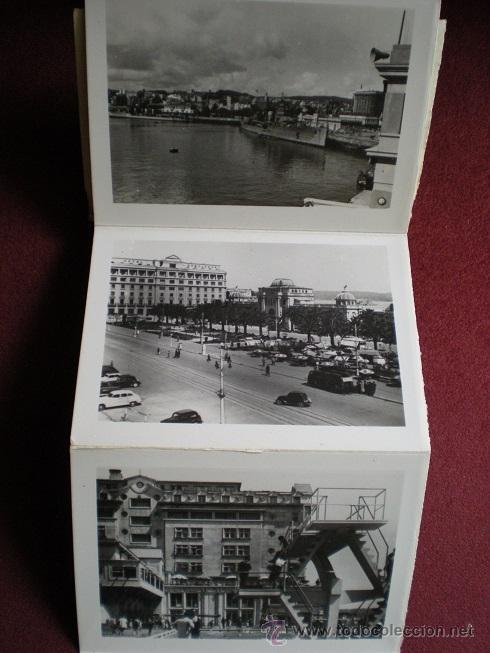Postales: 4687 - LA CORUÑA-BLOK RECORDATORIO DE 10 INTERESANTES FOTOS ARTISTICAS DE 9X6,5 CM - ARRIBAS - Foto 3 - 38786817