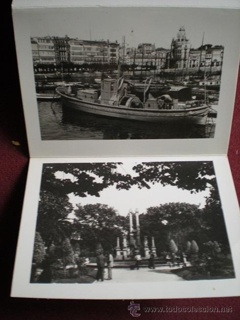 Postales: 4687 - LA CORUÑA-BLOK RECORDATORIO DE 10 INTERESANTES FOTOS ARTISTICAS DE 9X6,5 CM - ARRIBAS - Foto 5 - 38786817