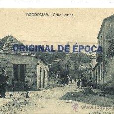 Postales: (PS-36084)POSTAL DE GONDOMAR-CALLE LOSADA. Lote 38925467