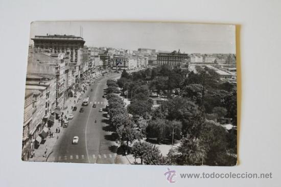 POSTAL. LA CORUÑA. AVENIDA DE LOS CANTONES. ED. ARRIBAS. (Postales - España - Galicia Moderna (desde 1940))