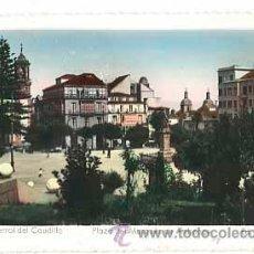 Postales: CORUÑA FERROL DEL CAUDILLO PLAZA MARQUES DE AMBOAGE ED. ARRIBAS. SIN CIRCULAR. Lote 39424375