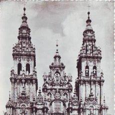 Postales: SANTIAGO DE COMPOSTELA. LA CATEDRAL. L. ROISIN FOTÓGRAFO.. Lote 39600182