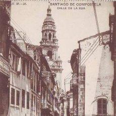 Postales: SANTIAGO DE COMPOSTELA: CALLE DE LA RUA.. Lote 39600936