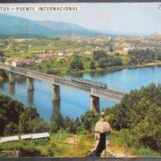 Postales: (10916)POSTAL ESCRITA,PUENTE INTERNACIONAL DESDE PORTUGAL,TUY,PONTEVEDRA,GALICIA,CONSERVACION:VER FO. Lote 39646376