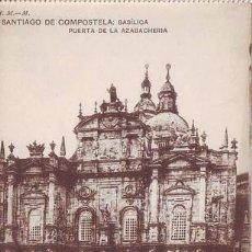 Postales: SANTIAGO DE COMPOSTELA: BASÍLICA. PUERTA DE LA AZABACHERÍA.. Lote 39652966