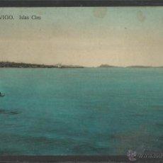 Postales: VIGO - ISLAS CIES - TAFALL - (17758). Lote 39741814