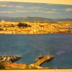Postales: POSTAL FERROL.-PUERTO VISTA PARCIAL-BARCOS GUERRA. Lote 39965040