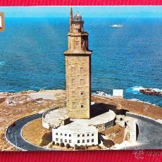 Postales: TORRE DE HERCULES - LA CORUÑA. Lote 194878200