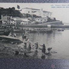 Postales: GALICIA VIGO PONTEVEDRA RIBERA DEL BERBÉS POSTAL ANTIGUA HAUSER Y MENET. Lote 40152120