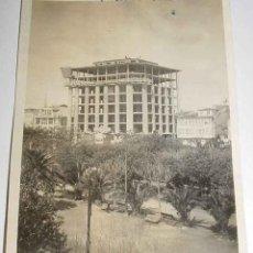 Postales: ANTIGUA FOTO DE LA CORUÑA - CONSTRUCCION DEL EDIFICIO DEL BANCO PASTOR, TOMADA EN 1922 - MUY RARA - . Lote 39545899