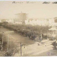 Postales: ANTIGUA FOTO POSTAL DE LA CORUÑA - FOTO FERRER - CONSTRUCCION DEL EDIFICIO DEL BANCO PASTOR, TOMADA . Lote 39545905