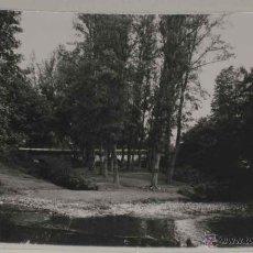 Postales: ANTIGUA FOTO POSTAL DE SARRIA (LUGO) PUENTE VIEJO . ED. GRECOR . MARGARA, SIN CIRCULAR. Lote 39548187