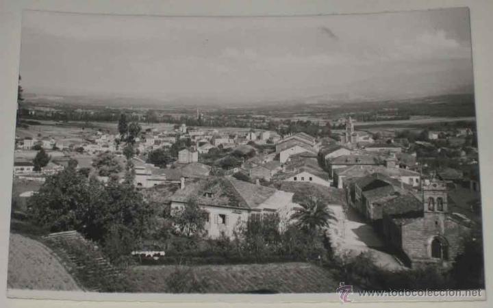 ANTIGUA FOTO POSTAL DE SARRIA (LUGO) VISTA PARCIAL. ED. GRECOR . MARGARA, SIN CIRCULAR (Postales - España - Galicia Antigua (hasta 1939))
