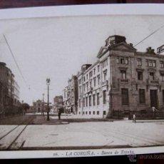 Postales - ANTIGUA POSTAL DE LA CORUÑA - N. 16 - BANCO DE ESPAÑA - NO CIRCULADA - ED. L. ROISIN. - 39587058