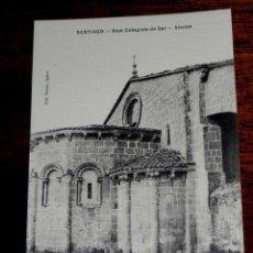 Postales: ANTIGUA POSTAL - SANTIAGO - REAL COLEGIATA DE SAR ABSIDE - EDITORIAL VARELA, OPTICO - SIN NUMERO - S. Lote 39590736