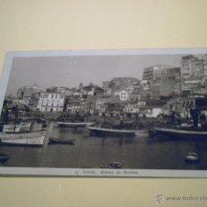Postales: 4 - VIGO - RIBERA DE BERBÉS - FOTO NEGTOR. Lote 40276752