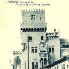 Postales: POSTAL PORRIÑO - PONTEVEDRA - GALICIA - AYUNTAMIENTO DONADO RAMON GONZALEZ. Lote 57574038
