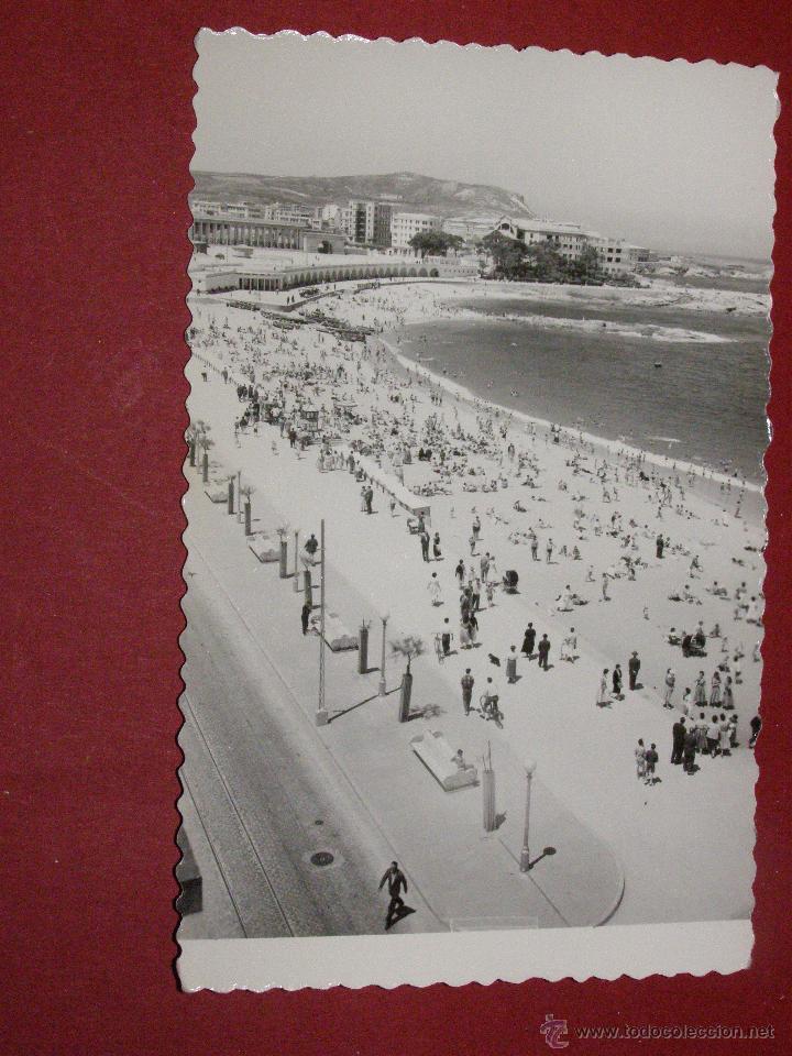 PLAYA DE RIAZOR - CORUÑA - EDICIONES LUJO ZARAGOZA - SIN CIRCULAR - (Postales - España - Galicia Antigua (hasta 1939))