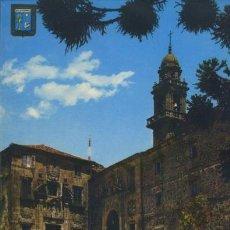Postales: POSTAL MONASTERIO DE SAN DOMINGOS DE BONAVAL SANTIAGO DE COMPOSTELA A CORUÑA GALICIA GALIZA. Lote 40576807