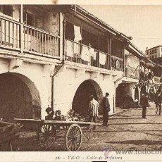 Postales: RRR POSTAL 36 CALLE DE LA RIBERA EL BERBES DE VIGO - GALICIA - AÑOS 10 - ROISIN - IMPECABLE. Lote 40629000