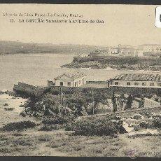 Postales: LA CORUÑA - 12 - SANATORIO MARITIMO DE OZA - HAUSER Y MENET - (18502). Lote 40649991