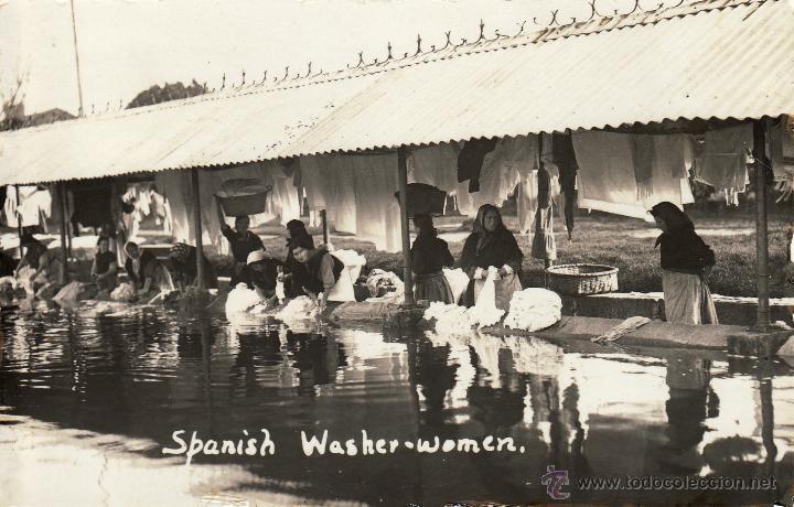 VILLAGARCIA - LAVANDERAS -. (Postales - España - Galicia Antigua (hasta 1939))