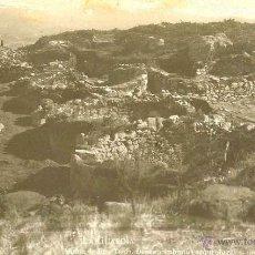 Postales: RARISIMA POSTAL DE LA GUARDIA - PONTEVEDRA - CASTRO CELTIBERO - ARQUEOLOGIA - AÑOS 20/30. Lote 40730743