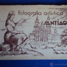 Postales: (PS-38258)BLOK DE 15 POSTALES DE SANTIAGO. Lote 40848013