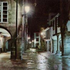 Postales: SANTIAGO COMPOSTELA - RUA DEL VILLAR / NOCTURNA - Nº 2057 - ED. ARRIBAS - NUEVA - AÑO 1975 - RD27 X. Lote 40856098