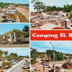 Postales: ARES / LA CORUÑA - CAMPING EL RASO - Nº 1 - ED. ARRIBAS - NUEVA - AÑO 1979 - RD27 X. Lote 40856121