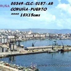 Cartes Postales: POSTAL LA CORUÑA PUERTO EDITORIAL ARRIBAS Nº157/349 AÑOS 60 Y 70*. Lote 40978943
