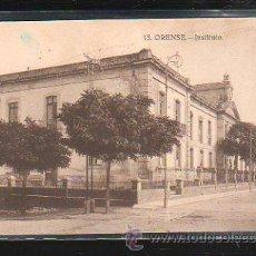 Postales: TARJETA POSTAL ORENSE - INSTITUTO. 13. GRAFOS. Lote 41000127