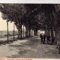 Postales: 6 CAMBADOS. ALAMEDA Y PASEO DE CERVANTES ED CALIXTO 6131 FOTOTIPIA THOMAS.. Lote 41000617