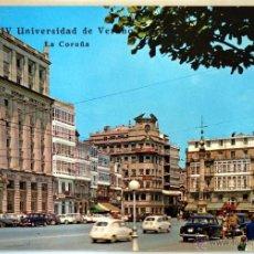 Postales: LA CORUÑA. A CORUÑA. CANTONES DE JOSE ANTONIO. IV UNIVERSIDAD DE VERANO.. Lote 41297844