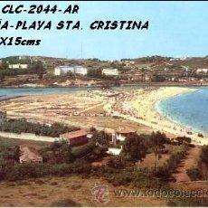 Cartes Postales: POSTAL CORUÑA PLAYA DE SANTA CRISTINA ARRIBAS Nº2044/452 AÑOS 60 Y 70*. Lote 75726851