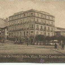 Postales: POSTAL ORIGINAL DECADA DE LOS 30. PROV. DE PONTEVEDRA. Nº 215. VIGO. VER TAMAÑO Y EXPLICACION. Lote 41607883
