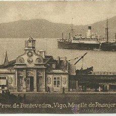 Postales: POSTAL ORIGINAL DECADA DE LOS 30. PROV. DE PONTEVEDRA. Nº 217. VIGO. VER TAMAÑO Y EXPLICACION. Lote 41607900