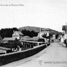 Postales: THOMAS - SERVANDO DIZ - AV. BUENOS AIRES - PORRIÑO - PONTEVEDRA - AÑOS 10 - RRR - IMPECABLE. Lote 41762789