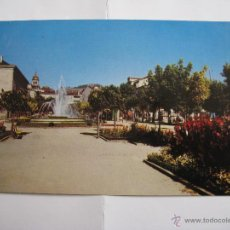 Postales: POSTAL ORENSE - ALAMEDA DEL CONCEJO - EDICION DE LA REGION - Nº 6, ESCRITA, NO CIRCULADA. Lote 41943845