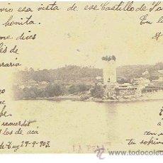 Postales: POSTAL DE CALDELAS DE TUY, CIRCULADA EN 1903 . Lote 42056962