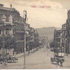 Postales: PS3877 VIGO 'CALLE COLÓN'. KIOSCO MANUEL VÁZQUEZ. SIN CIRCULAR. Lote 42107763