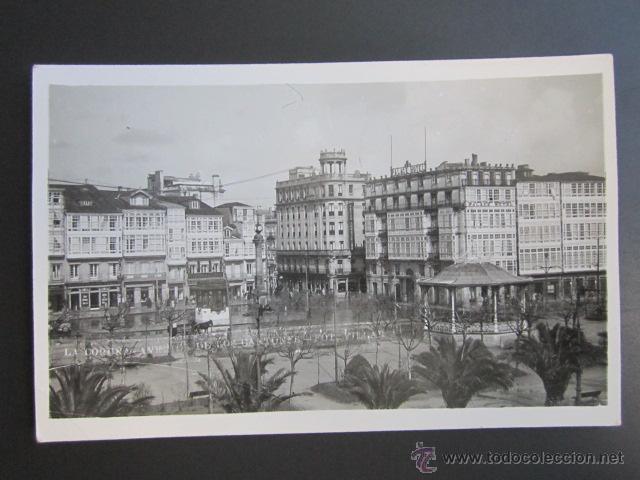 POSTAL LA CORUÑA. AVENIDA DE LOS CANTONES. (Postales - España - Galicia Moderna (desde 1940))