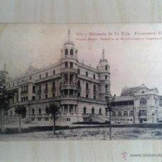 Postales: POSTAL ANTIGUA GALICIA. PONTEVEDRA. ISLA Y BALNEARIO DE LA TOJA. GRAND HOTEL. CIRCULADA. . Lote 42226658