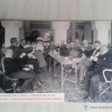 Postales: POSTAL ANTIGUA GALICIA. PONTEVEDRA. BALNEARIO DE LA TOJA. GRAND HOTEL. . Lote 42226667