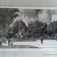 Postales: POSTAL ANTIGUA GALICIA. PONTEVEDRA. MONUMENTO A LOS HÉROES DE SAMPAYO. CIRCULADA. . Lote 42226695