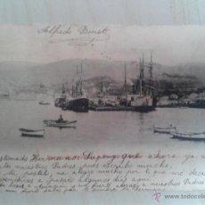 Postales: POSTAL ANTIGUA GALICIA. PONTEVEDRA. VIGO. PARQUE DE ARTILLERÍA Y PUERTO DE HIERRO. DORSO SIN DIVIDIR. Lote 42226746